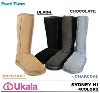 Second-line UKALA Sheepskin boots Sheepskin boots ukara EMU Sydney high UKALA SYDNEY HI W80001 4colors 2012 model