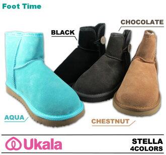 EMU second-line UKALA Sheepskin boots, Sheepskin boots ukara Stella UKALA STELLA W80030 4colors 2012 model