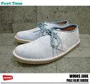 クラークス ウイメンズ ジンク ペールブルー スエード 【レディース】 CLARKS WMNS JINK20353039 PALE BLUE SUEDEクレープソール 靴 シューズ