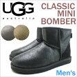 アグ メンズ クラシック ミニ ボンバーUGG MENS CLASSIC MINI BOMBERBJB BJC BJCE 3COLOR 1007307 送料無料