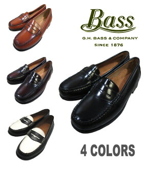 G.H.BASS WAYFARER ladies ' model BLACK BURGUNDY BROWN