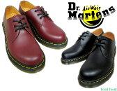ドクターマーチン 3ホールシューズ ギブソン 2カラー Dr.MARTENS 1461W 3EYE SHOES GIBSON 2color BLACK/CHERRYRED 11837002/11837600 レディース シューズ  送料無料