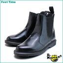 ドクターマーチン フローラ サイドゴア チェルシー ブーツ Dr.MARTENS FLORA CHELSEA BOOTBLACK 14649001 レディース ブーツ  送料無料