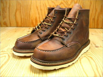 Red Wing クラッシックワークブーツ / モカシントゥ REDWING 6LEGACY MOC BROWN 1907 review promise sucker supplies gift planning underway!