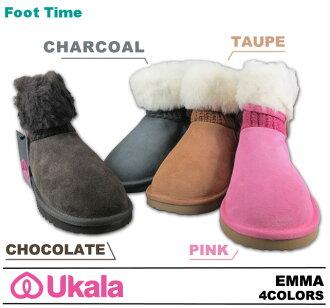 EMU second-line UKALA Sheepskin boots, Sheepskin boots ukara Emma UKALA EMMA W80044 4COLORS 2012 model