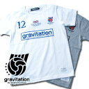 gravitation British Logo Tシャツ