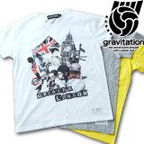 【gravitation】ロンドンコラージュTシャツ