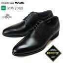 【送料無料】マドラスウォーク ゴアテックス MW7003 メンズ ビジネスシューズ 本革 3E 防水 外羽根 プレーントゥ 紳士靴 madras Walk GORE-TEX マドラス (1707)