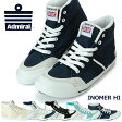 【送料無料】アドミラル Admiral INOMER HI SJAD1511(イノマーハイ) レディース メンズ スニーカー ユニセックス ハイカット キャンバス スエード スポーツ シューズ 靴