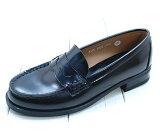【年間定番】お子様の通園通学用として最適信頼のブランド【国産】【ハルタ】の学生靴大きなサイズまで品揃え!22.5-25.5cm【】【日本製】【3E】通勤 通学靴 ハルタ4505BK