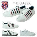 K-SWISS CLASSIC 02248メンズレディーススニーカー ホワイトレッドネイビー/ホワイトブラウンガム/ホワイトホワイト