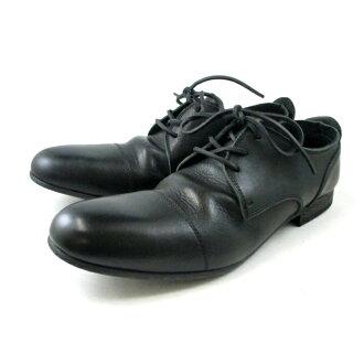 Algis 直提示 ARGIS 休閒鞋男裝 91102 [黑色] 花邊鞋男士皮革-日本