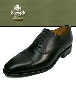 Berwick バーウィック ストレートチップ 1251 ブラック スムースレザーカーフレザー ダイナイトソール メンズ men's ビジネスシューズ 送料無料 グッドイヤー製法 スペイン製 トラッドシューズ プレーントゥ 通販