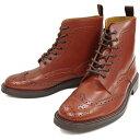 ロッキングシューズ by フットモンキー WINGTIPBOOTS ウィングチップブーツ Style::916 ブラウン 本革 レザー ビジネスシューズ 日本製...