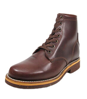PISTOLERO [pistoleros, 6 inch plain lace-up boots 108-04 cordovan color - genuine - planet round toe leather leather work boot Vibram Vibram shoes shoes made in Mexico goodyer weld manufacturing Saul replaceable store