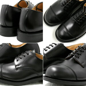 ��ॸ�����ߥ�RAMSEY442MILITARYCAPTOEOXFORD�Υ֥�å��ϥӥ��ͥ����塼�����ȥ졼�ȥ��åץ�ѹ����»η�men'sbusinessshoes