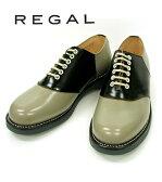 リーガル サドルシューズ REGAL 2051N ブラック ソーテル BST EE サドル オックスフォード ビジネスシューズ 送料無料