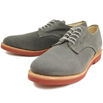 走過去鞋沃科德比德比鞋灰色油畫走在男式帆布鞋