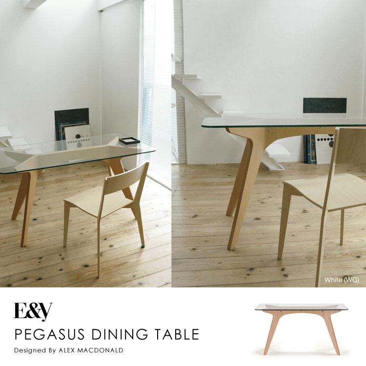 【ポイント10倍】ペガサスダイニングテーブル PEGASUS DINING TABLE 160【送料無料】
