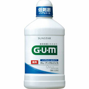 薬用GUM(ガム) デンタルリンスBN ノンアルコールタイプ 500ml