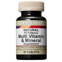 LIFE STYLE(ライフスタイル)マルチビタミン&ミネラル 90タブレット