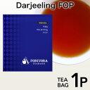 【紅茶ティーバッグ】ダージリンティー 1個入り〈メール便18個まで対応可〉FORIVORA フォリボラ 紅茶専門店 ギフト おしゃれ 人気 パック カフェイン フラワリーオレンジペコー 定番