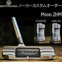 【メーカーカスタム】ベティナルディクーチャーモデルシリーズ モデル2HM(ハーフムーン) センターシャフトパター (マレット型) BETTINARDI KUCHAR MODEL SERIES PUTTER