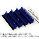 【フーラ】カラーエクステ 4列シート ブルー Jカール 11mm×0.20mm