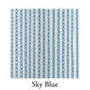 ショッピングカーテン 【VENUS PLATINUM】リリアンカーテンL−011 Sky Blue