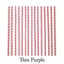 ショッピングカーテン 【VENUS PLATINUM】リリアンカーテンL−007 Thin Purple 防炎加工
