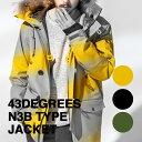43Degrees N3B type ジャケット アウターウェア