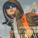 スノーボードウェア メンズ スキーウェア 上下 セット 43DEGREES 新作 スノボウェア スノーボード ウェア スノボ スノボー ウエア〈セール品の為交換...