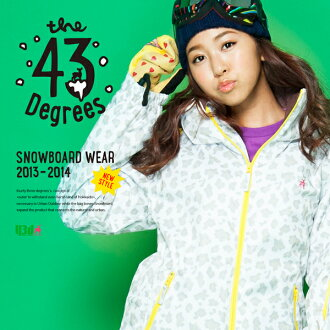 【43Degree】 Snowboard Wear New Model / Women's Jacket&Pant Set★ / Style_G01〜15[fs01gm]