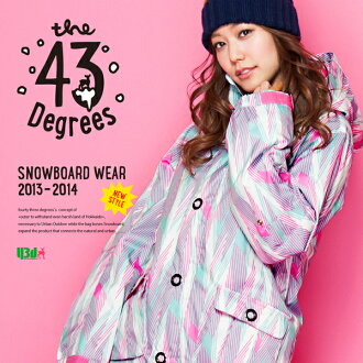 【43Degree】 Snowboard Wear New Model / Women's Jacket&Pant Set★ / Style_H90〜100[fs01gm]
