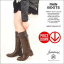 Long rain boots (boots) lady's small size [ss size-limited] [tomorrow easy _ Saturday business] [RCP]