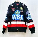 Supreme (シュプリーム) Wise Racing Jacket サイズ:M カラー:ブラック【中古】【ストリート】【鈴鹿 併売品】【1261903OS】
