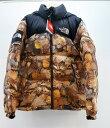Supreme×THE NORTH FACE (シュプリーム×ノースフェイス) Nuptse Jacket サイズ:S カラー:ブラウン【中古】【ストリート】【鈴鹿 …