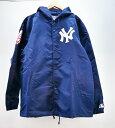Supreme×47 BRAND×New York Yankees (シュプリーム×フォーティーセブンブランド×ニューヨーク・ヤンキース) Hooded Coaches Jacket…
