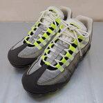 NIKE(ナイキ) AIR VAPORMAX 95 ナイキ エア ヴェイパーマックス 95 AJ7292-001 サイズ:8.5(26.5cm) カラー:イエロー・グレー