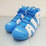 NIKE (ナイキ) AIR MORE UPTEMPO '96 921948-401エアモア アップテンポ サイズ: 9 (27cm) カラー:ブルー・ホワイト