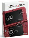 【未使用】【完品】Newニンテンドー3DS LL METALLIC RED/メタリックレッド 【未使用】【3DS本体】【日永 併売品】【0570002mh】