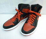 "AIR JORDAN 1 HIGH RETRO ""CHICAGO BULLS"" 332550-061 black/varsity red エア ジョーダン 1"