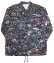 Supreme×COMME des GARCONS SHIRT 13SS Coaches Jacket シュプリーム コムデギャルソン コーチジャケット グレー/ドット【中古】【…