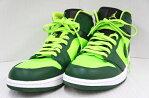 NIKE AIR JORDAN 1 MID 554724-330 ナイキ エア ジョーダン 1 ミッド サイズ:28.5cm カラー: GORGE GREEN×ELECTRIC GREEN