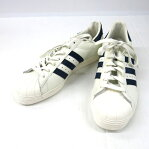 adidas originals SUPER STAR 80s DLX アディダス オリジナルス スーパースター 80 ヴィンテージ デラックス B25964 ホワイト/ネイビー/ゴールド サイズ:28.5cm【139-190817-07USH】