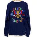 F.C.Real Bristol(エフシー リアル ブリストル) SOUVENIRスウエット サイズ:M カラー:ネイビー系