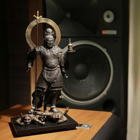仏像 フィギュア 毘沙門天 びしゃもんてん 高さ36.5cm インテリア 雑貨 置物 精巧 Isumu (イスム) スタンダード