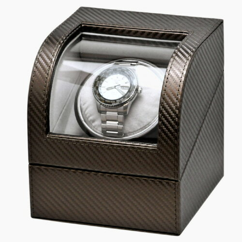IGIMI イギミ ワインディングマシーン 腕時計 1本用 合皮ワインダー IG-ZERO 105-19 ブロンズ