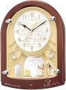 CITIZEN (シチズン) リズム時計 スヌーピー ウッドストック 毎正時メロディに合わせ回転 置時計 目覚まし時計 M778 4MH778MA09