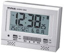 MAG 電波時計 常時点灯 エアサーチグッドライト 置き時計 置時計 目覚まし時計 T-694 SM-Z